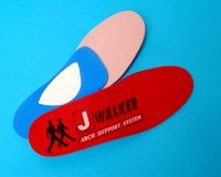 J -Walker Walking Orthotics, arch support system