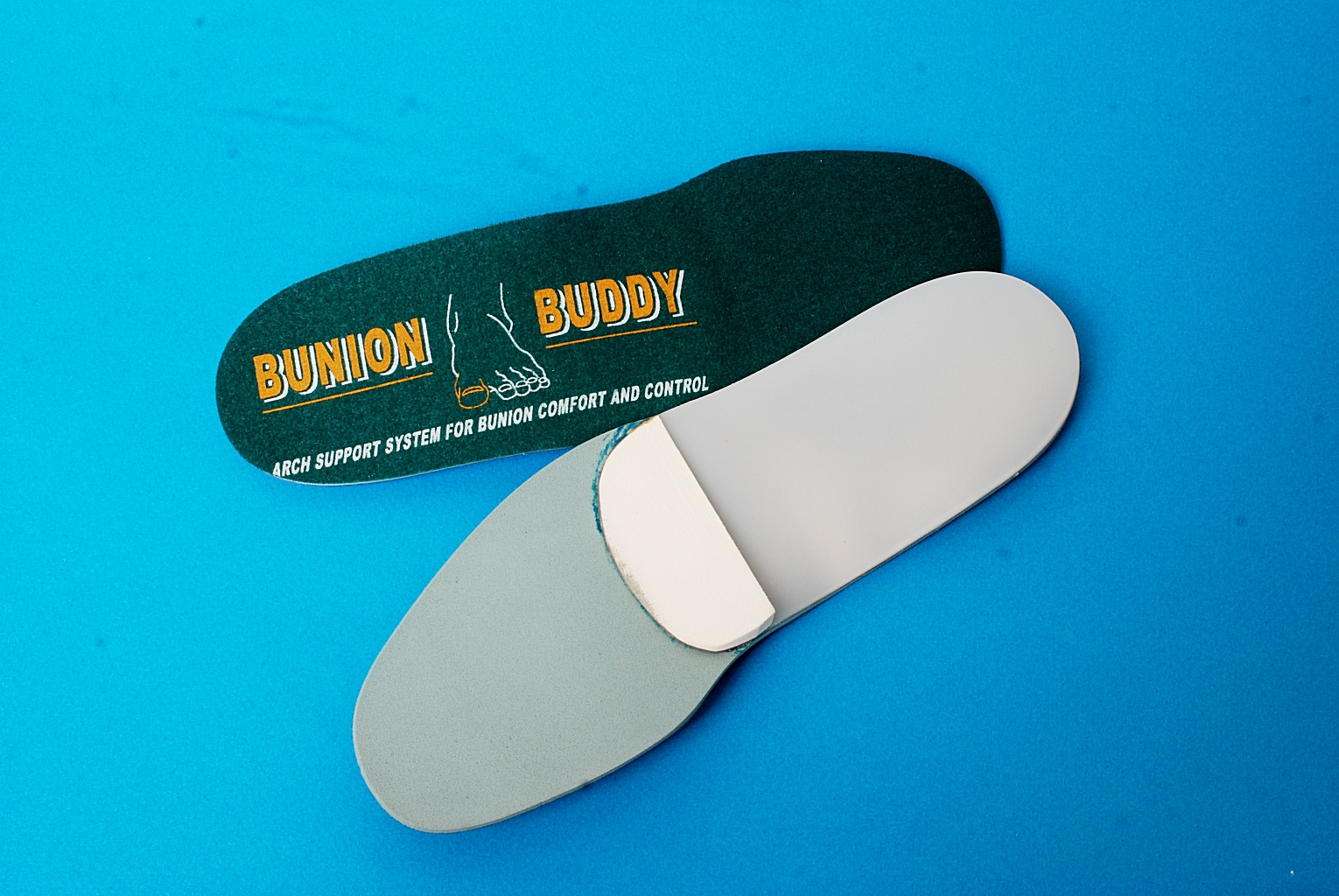 Bunion Buddy Bunion Orthotics, Arch support system for bunion comfort and control.